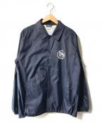 FACTOTUM(ファクトタム)の古着「エクスクルーシブバックプリントナイロンコーチジャケット」|ネイビー
