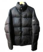 ZARA(ザラ)の古着「中綿ジャケット」|ブラック