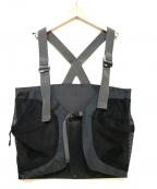 Comfy Outdoor Garment(コンフィーアウトドアガーメンツ)の古着「ERPベストメッシュ」|ブラック