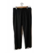 m's braque(エムズブラック)の古着「ウールパンツ」|ブラック