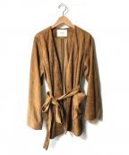 SLOBE IENA(スローブ イエナ)の古着「フェイクスウェードジャケット」|ブラウン