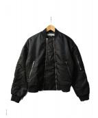 KENZO(ケンゾー)の古着「ボンバージャケット」 ブラック