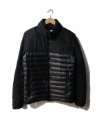 Pyrenex(ピレネックス)の古着「LAUDON HYBRID JACKET」|ブラック