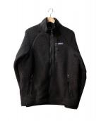 Patagonia(パタゴニア)の古着「Retro Pile Jacket/レトロパイルジャケット」|ブラック