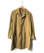 無印良品(ムジルシリョウヒン)の古着「ハードツイルステンカラーコート」|ベージュ