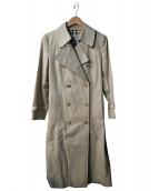 Burberrys(バーバリーズ)の古着「【OLD】トレンチコート」|ベージュ