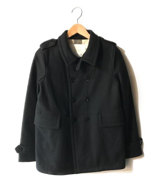 BURBERRY CHILDREN(バーバリー チルドレンズ)BURBERRY CHILDREN (バーバリー チルドレンズ) カシミヤ混メルトン中綿ジャケット ネイビー サイズ:12Y 152cm 冬物の古着・服飾アイテム