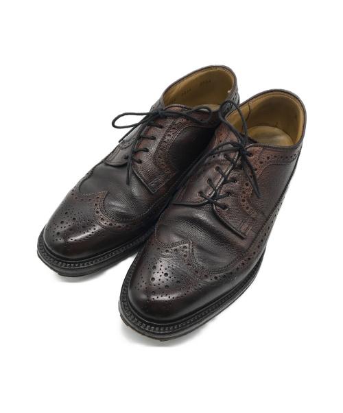REGAL(リーガル)REGAL (リーガル) ウィングチップシューズ ダークブラウン サイズ:251/2の古着・服飾アイテム
