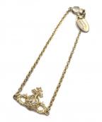 Vivienne Westwood(ヴィヴィアンウエストウッド)の古着「オーブモチーフブレスレット」|ゴールド
