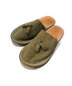 HENDER SCHEME()の古着「leather slipper」 ベージュ