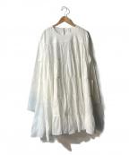 merlette(マーレット)の古着「SOLIMAN DRESS」 ホワイト