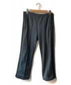 Maison Margiela 10(メゾンマルジェラ 10)の古着「サイドライントラックパンツ」 グレー×ブラック