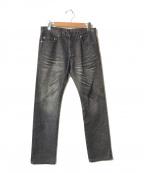 Dior(ディオール)の古着「デニムパンツ」 ブラック