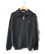 LACOSTE(ラコステ)の古着「カシミヤニットジップジャケット」|ブラック