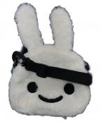 CUNE(キューン)の古着「もこもこウサギショルダーバッグ」|ホワイト