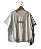upper hights(アッパーハイツ)の古着「ルーズラグランTシャツ」|ホワイト