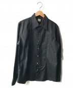 Rags McGREGOR(ラグス マクレガー)の古着「ブザムシャツ」|ブラック