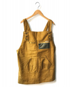 Columbia(コロンビア)の古着「カバーオールエプロン」|ブラウン