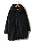 GRANDMA MAMA DAUGHTER(グランマママドーター)の古着「ダウンコート」|ブラック
