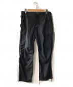 AURALEE(オーラリー)の古着「LIGHT NYLON FATIGUE PANTS」|ネイビー