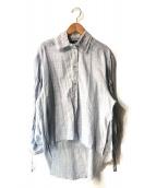 DIESEL(ディーゼル)の古着「TEKNO RAVERSデザインシャツ」|ブルー