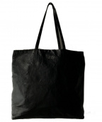 PRADA()の古着「リバーシブルレザートートバッグ」|ブラック