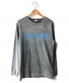 THRASHER(スラッシャー)の古着「L/S Tシャツ」|グレー