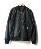 GUESS(ゲス)の古着「ミリタリージャケット」|ブラック