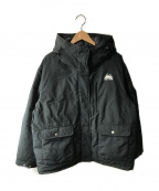 FIRST DOWN()の古着「中綿ジャケット」|ブラック