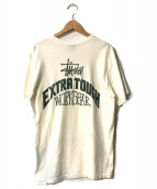 stussy(ステューシー)の古着「Extra Tough Workgear Pack TEE」|ホワイト