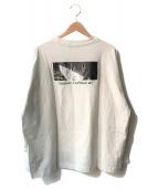 EVA×HARE(エヴァ×ハレ)の古着「アヤナミレイ(仮称)プリントロンT1」|ホワイト