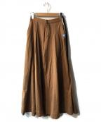 Maison MIHARA YASUHIRO(メゾン ミハラヤスヒロ)の古着「ワイドパンツ」|ブラウン