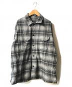 PENDLETON(ペンドルトン)の古着「チェックネルシャツ」|グレー×ブラック