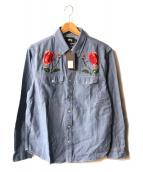 ()の古着「Poppy Denim Shirt」|インディゴ