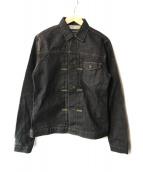()の古着「CROWデニムジャケット」|インディゴ