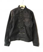 KURO(クロ)の古着「CROWデニムジャケット」|インディゴ