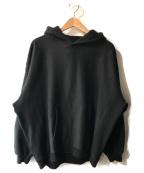 VOTE MAKE NEW CLOTHES(ヴォートメイクニュークローズ)の古着「P.E. FAT HOODIE」|ブラック