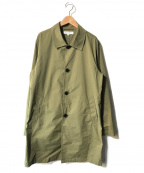 URBAN RESEARCH(アーバンリサーチ)の古着「ステンカラーコート」|カーキ