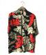 DIESEL (ディーゼル) アロハシャツ ブラック サイズ:M:5800円