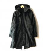 JOHNBULL()の古着「モッズコート」 ブラック
