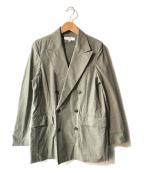 BEAUTY&YOUTH(ビューティアンドユース)の古着「コットンダンプダブルジャケット」|グレー