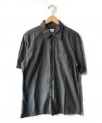 ck Calvin Klein(シーケーカルバンクライン)の古着「半袖シャツ」|チャコールグレー