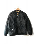 ALL SAINTS(オールセインツ)の古着「パディングミリタリージャケット」|ブラック