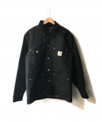 Carhartt WIP()の古着「80'sブランケットライナー ダック地カバーオール」|ブラック