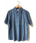 ()の古着「S/Sシャツ」 ネイビー