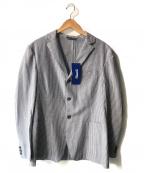 Fraizzoli(フライツォーリ)の古着「シアサッカーアンコンジャケット」|ネイビー