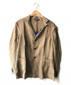 Fraizzoli(フライツォーリ)の古着「リネンアンコンジャケット」|ブラウン