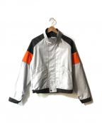 affix(アフィックス)の古着「ワークジャケット」|ライトグレー×オレンジ