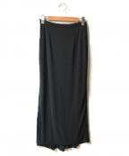 伊太利屋(イタリヤ)の古着「マキシスカート」|ブラック