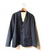 STILL BY HAND(スティルバイハンド)の古着「Stretch Jacket」 ネイビー